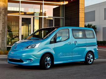 Nissan привез в Детройт электрический компактвэн