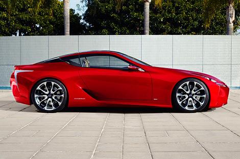 В Детройте показали концептуальное гибридное купе Lexus LF-LC