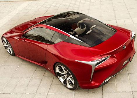 В Детройте показали концептуальное гибридное купе Lexus LF-LC. Фото 1
