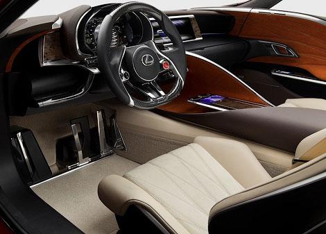 В Детройте показали концептуальное гибридное купе Lexus LF-LC. Фото 2