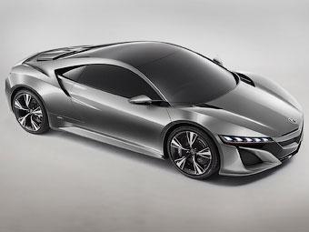 Предтеча нового суперкара Honda NSX дебютировал в Детройте