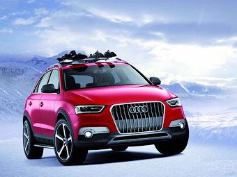 """Audi привезла в США """"горнолыжный"""" вариант Q3"""