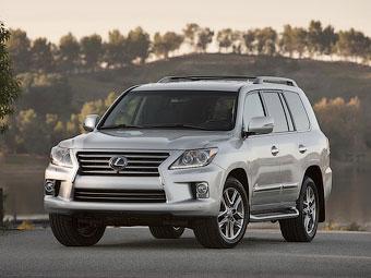 Lexus обновил внедорожник LX