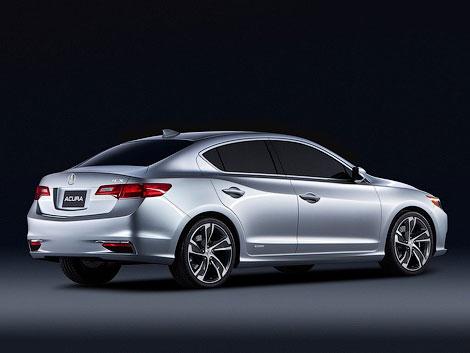 В Детройте показали маленький концептуальный седан Acura ILX