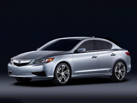В Детройте показали маленький концептуальный седан Acura ILX. Фото 1