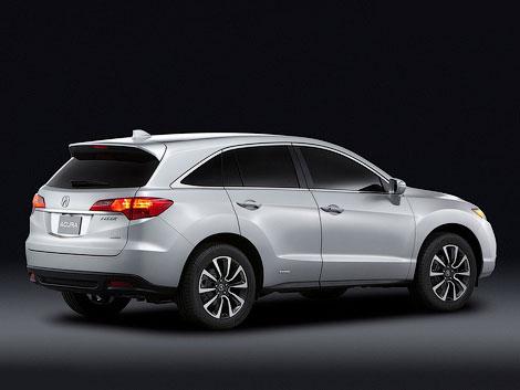 В Детройте показали маленький концептуальный седан Acura ILX. Фото 2