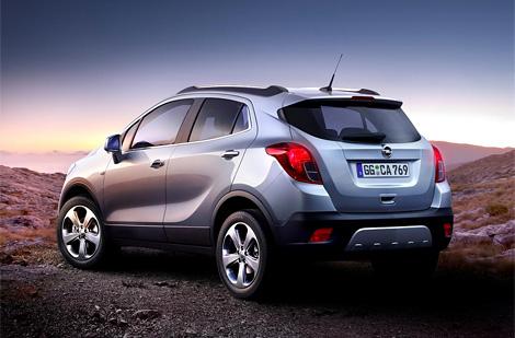 Компактный кроссовер Opel Mokka получит дизельные моторы