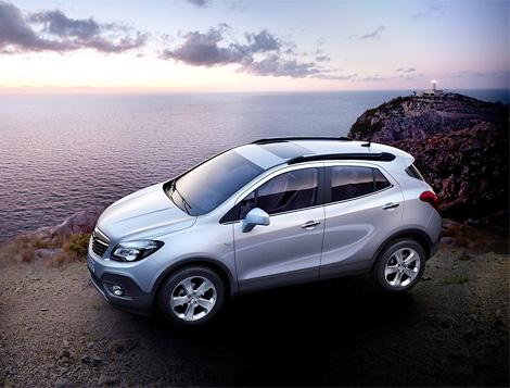 Компактный кроссовер Opel Mokka получит дизельные моторы. Фото 1