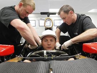 Кими Райкконен приступит к тестам на две недели раньше других пилотов