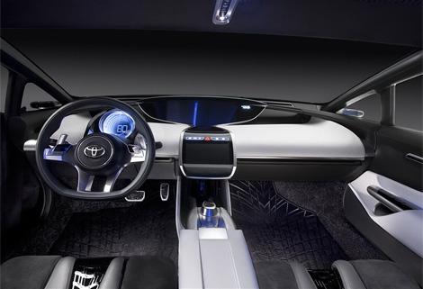 """На концепте NS4 """"Тойота"""" обкатывает новый дизайн и перспективные информационные системы"""