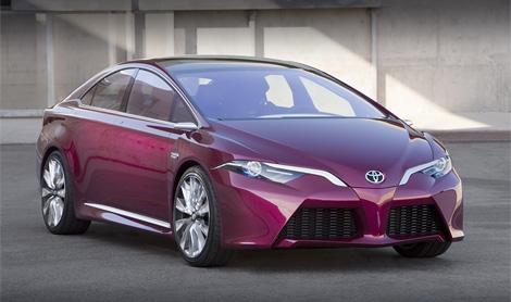 """На концепте NS4 """"Тойота"""" обкатывает новый дизайн и перспективные информационные системы. Фото 1"""
