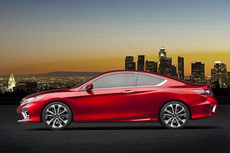 В Детройте Honda представила концептуальный вариант купе Accord