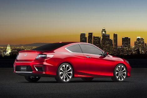 В Детройте Honda представила концептуальный вариант купе Accord. Фото 1