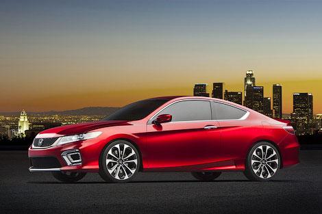 В Детройте Honda представила концептуальный вариант купе Accord. Фото 2