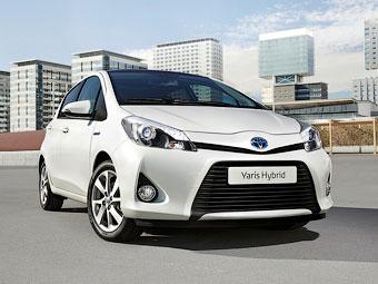 """Компания Toyota показала самый экологичный """"Ярис"""""""
