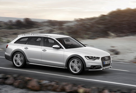 """""""Вседорожный"""" универсал Audi получил один бензиновый и три дизельных мотора. Фото 1"""