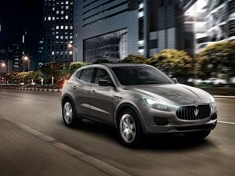 Внедорожник Maserati будут собирать в Детройте