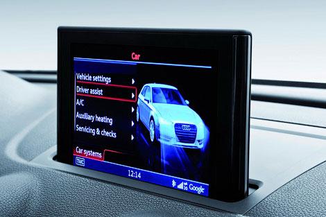 """Новую """"трешку"""" показали на экране мультимедийной системы MMI. Фото 2"""