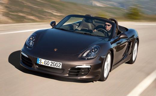 Рассекречен новый Porsche Boxster