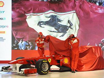 Новый болид Ferrari провалил краш-тест