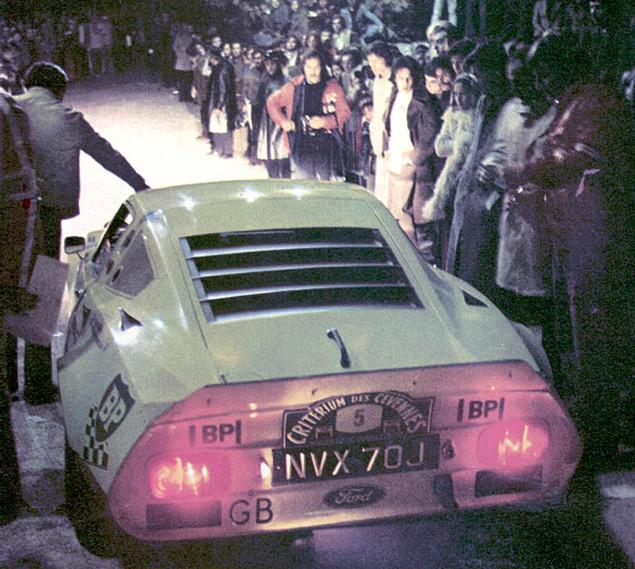 История раллийного Ford GT70