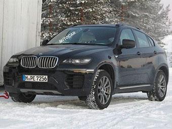 BMW X6 готовится к обновлению