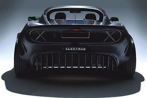 Фирма PG Elektrus запустит в серию 272-сильный спортивный электрокар. Фото 1
