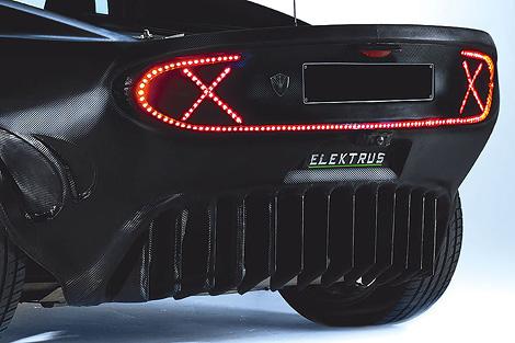 Фирма PG Elektrus запустит в серию 272-сильный спортивный электрокар. Фото 2
