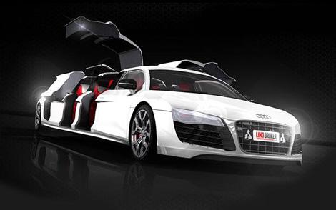 Компания Limo Broker к лету построит лимузин на базе суперкара Audi R8