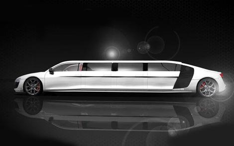 Компания Limo Broker к лету построит лимузин на базе суперкара Audi R8. Фото 1