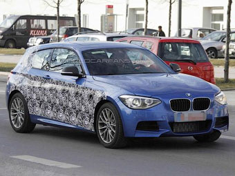 Фотошпионы увидели новую самую мощную трехдверку BMW 1-Series