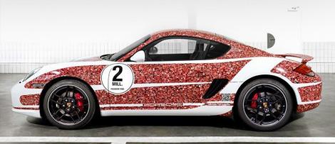 """В музее Porsche в Штутгарте представят спорткар, посвященный пользователям """"Фейсбука"""""""