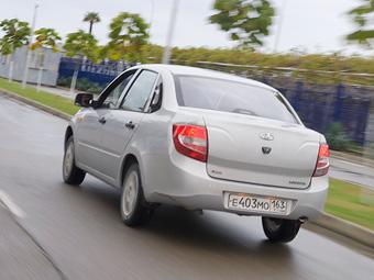 """""""АвтоВАЗ"""" объявил о первом отзыве седанов Lada Granta"""