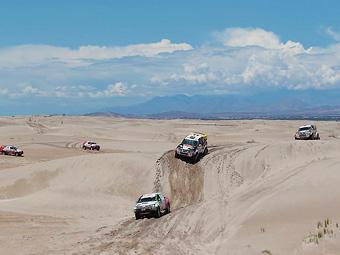 """В 2013 году """"Дакар"""" посетит Боливию и финиширует в Чили"""