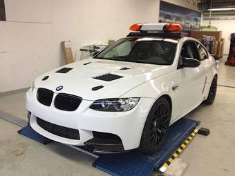 Купе BMW M3 стало автомобилем безопасности