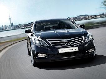 В России появится новый седан Hyundai Grandeur