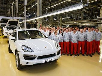 Компания Porsche выпустила 100-тысячный Cayenne