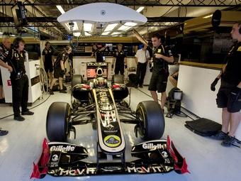 FIA запретила уникальную переднюю подвеску команды Lotus