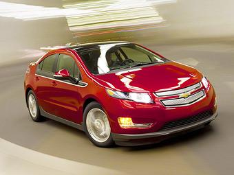 Батареи Chevrolet Volt признали безопасными