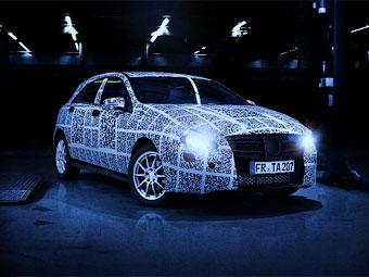 Mercedes-Benz закодировал новый A-Class