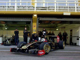 Кими Райкконен начал тесты болида Формулы-1
