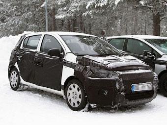 Hyundai i20 готовится к рестайлингу