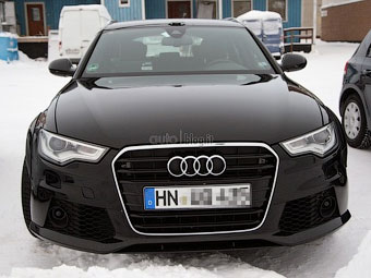 Фотошпионы рассекретили внешность универсала Audi RS6