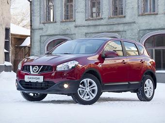 Nissan Qashqai получил систему кругового видеообзора