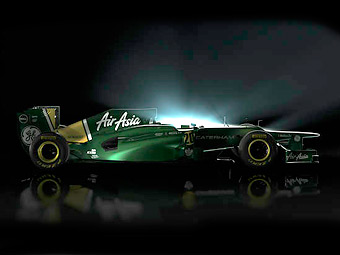 Команда Формулы-1 Caterham первой показала новый болид