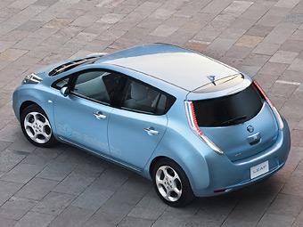 Электрокар Nissan протестируют в России