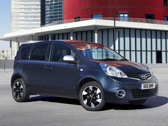 Nissan слегка обновил европейский Note
