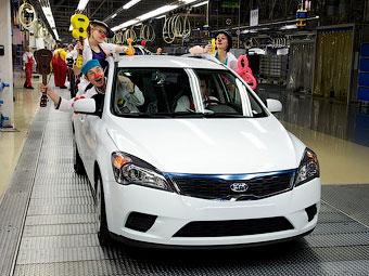 Компания Kia собрала в Словакии миллион автомобилей