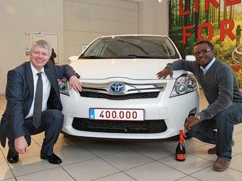 Toyota продала в Европе 400 тысяч гибридов