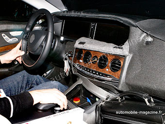Появилась фотография интерьера нового Mercedes-Benz S-Class
